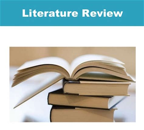 Evaluation of literature review